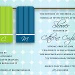 Towel Bridal Shower Invita..