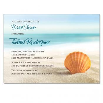 Beach / Ocean Themed Invitation